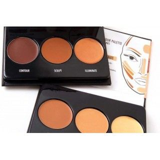 Black Radiance True Complexion Crème Contour Palette light to medium