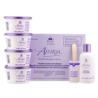 Affirm Sensitive relaxer kit 4 applications
