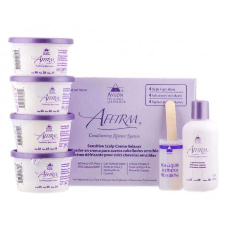 Affirm Sensitive relaxer kit 4 applications