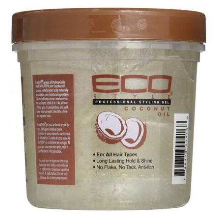 Eco Style Gel de coiffage à l'huile de Coco