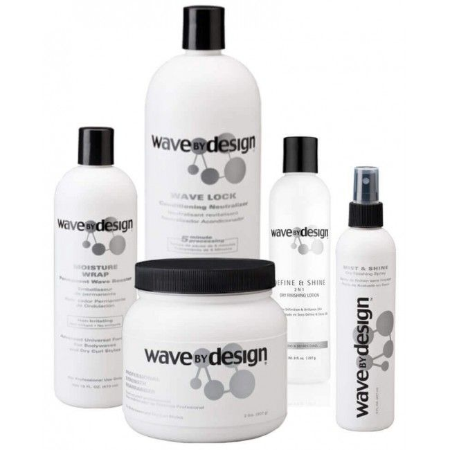 Design Essential Wave By Design Kit Permanent Cheveux Afro