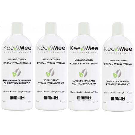 Lissage Coréen Kee Mee KIT 500ml EM²H