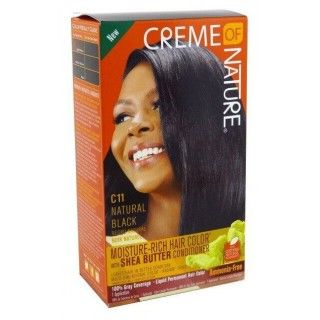 Creme Of Nature C11 Natural Black