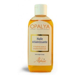 Opalya Huile éclaircissante à l'huile de carotte