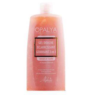 Lightening Exfoliating Shower Gel 2 in 1  Vanilla  Opalya