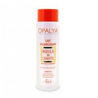 Opalya Lait éclaircissant à l'huile de carotte