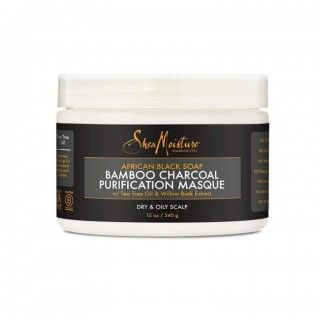 Shea Moisture African Black Soap Bamboo Charcoal Purification Masque