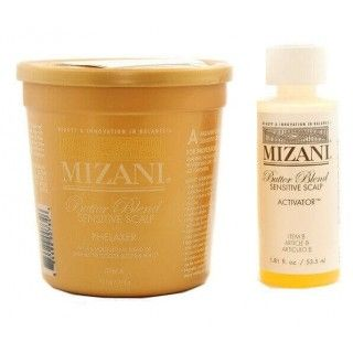 Mizani Butter Blend Sensitive Scalp Relaxer 1 application