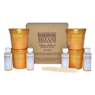 Mizani Butter Blend Sensitive Scalp Relaxer Pack x4