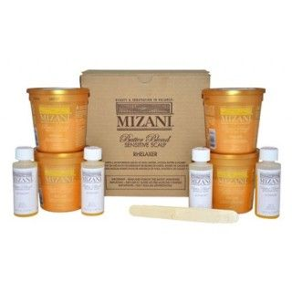 Mizani Butter Blend Sensitive Scalp Relaxer Pack x4