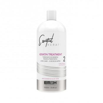 lissage cheveux crépus Essential Keratin