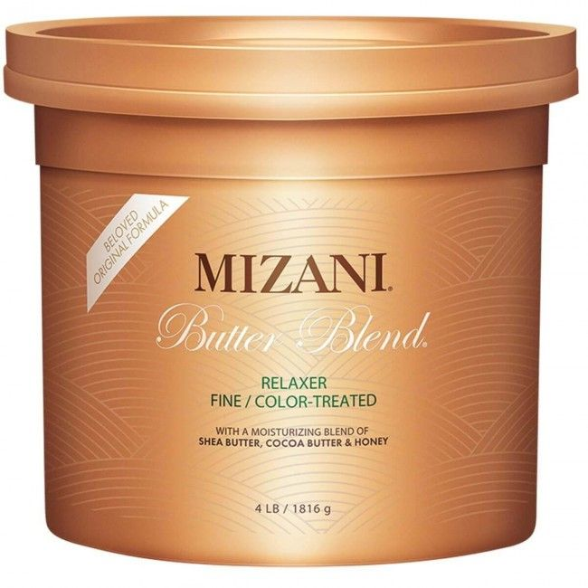 Mizani butter blend relaxer fine color treated