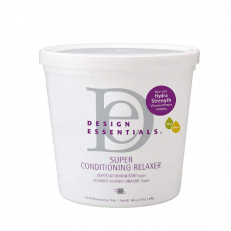 Design Essentials super Conditioning Relaxer With olive oil and Shea butter 4lbs