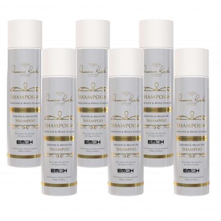 Premium Keratin Caviar Shampoo met Keratine en Arganolie