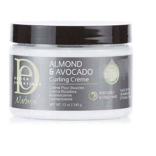 Curling Crème Design Essentials Almond & Avocado
