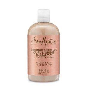 Shampoo Curl and Shine Coconut & Hibiscus  Shea Moisture