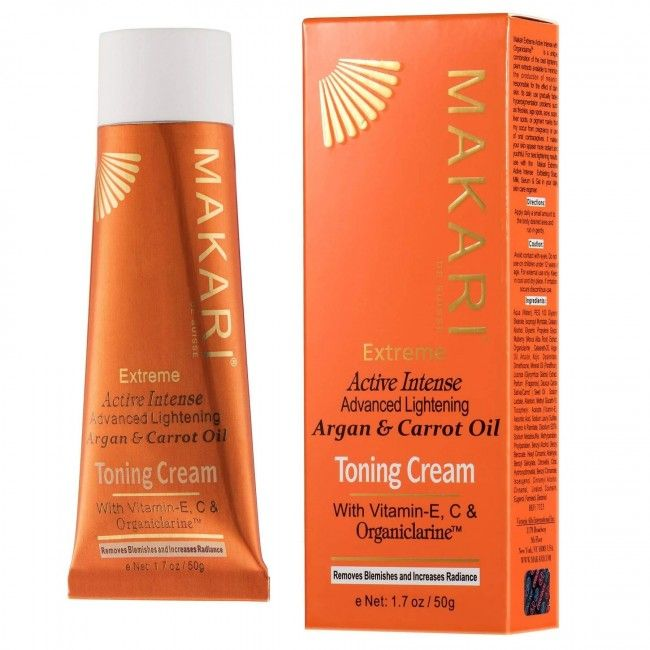 Makari extreme toning cream argan and carott oil