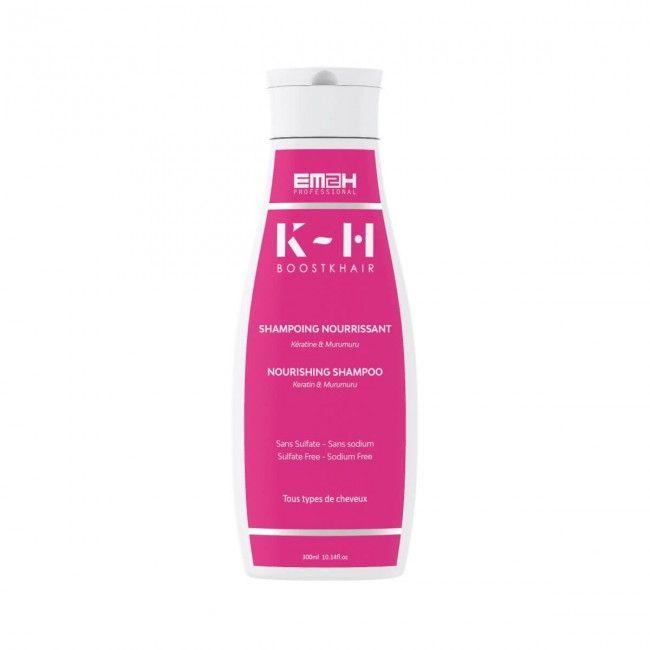 BOOST K-Hair Nourishing Shampoo with Keratin & Murumuru Butter