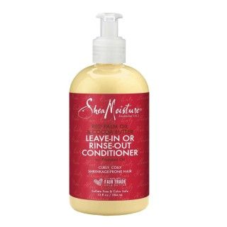 Après-shampoing hydratant anti rétrécissement -  Red Palm  Shea Moisture