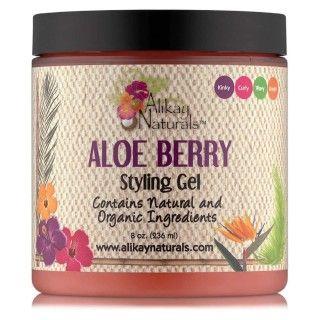 Gel coiffant Aloe Berry - Alikay Naturals