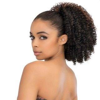 Ponytail Kinky Curl 100% human hair