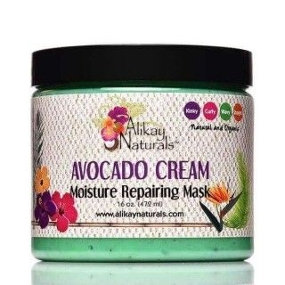 Avocado Cream Moisture Repairing Mask Alikay Naturals