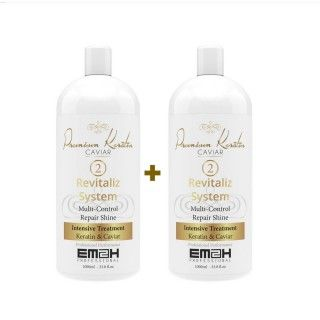 Premium Keratin Caviar kit de 2  x 2 phase 2 1000ml