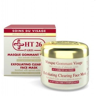 HT26 exfoliating clearing face mask