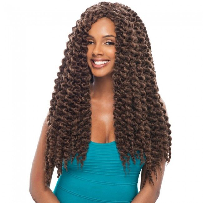 "Janet collection Havana Mambo twist crochet braids 24"""