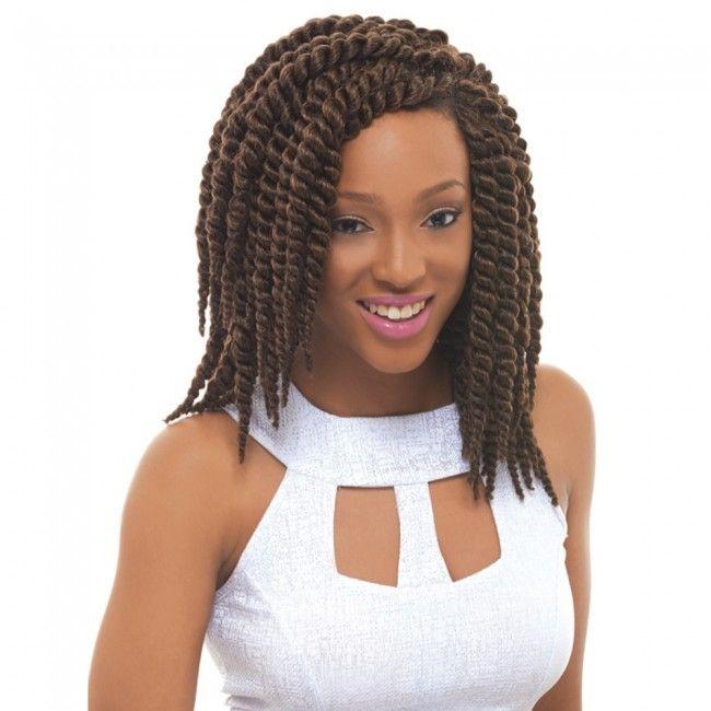 "Janet collection mambo twist crochet braids 14"""