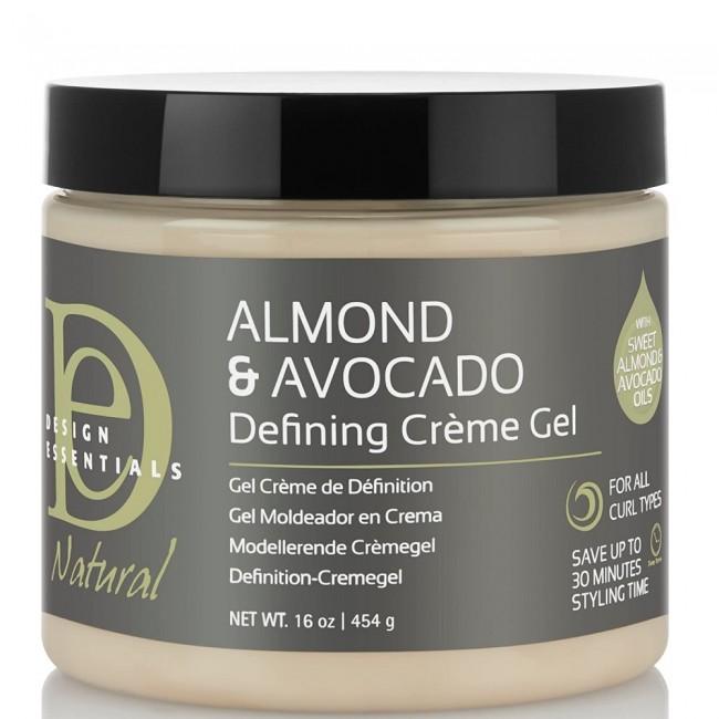 Design Essentials Almond & Avocado Defining Crème Gel