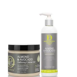 Design Essentials Natural Almond & Avocado Twist Perfection