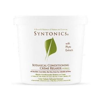 Défrisant aux plantes cheveux normaux Syntonics