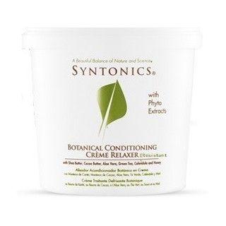 Défrisant aux plantes cheveux résistant Syntonics
