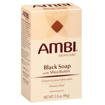 Ambi Black Soap With Shea Butter 99gr