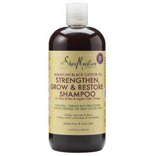 Shea Moisture Jamaican Black Castor Oil Strengthen & Restore Shampoo 384g