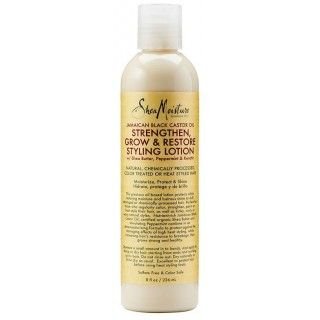 Shea Moisture Jamaican Black Castor Oil Strengthen Grow & Restore Styling Lotion