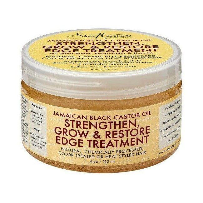 Strengthen Grow & Restore Edge Treatment - Jamaican Black Castor Oil de Shea Moisture