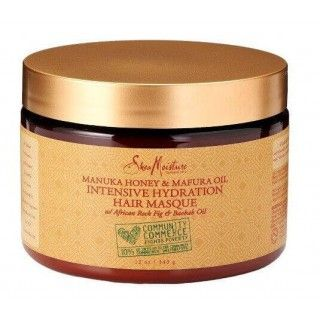 Shea Moisture Manuka Honey & Mafura Oil  Intensive Hydratation Hair Masque