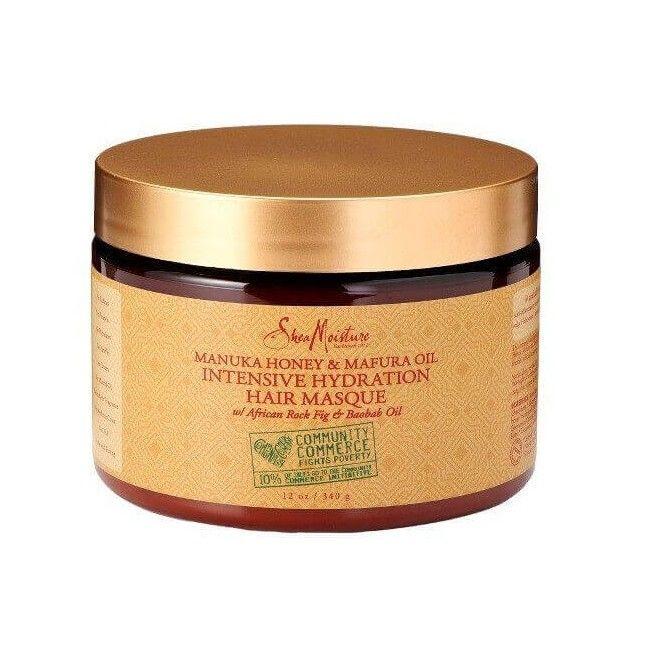 Shea Moisture Manuka Honey & Mafura Oil  Intensive Hydratation Hair Masque