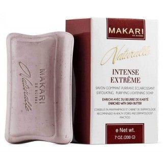 Makari Naturalle Intense Extrême Savon gommant purifiant, éclaircissant