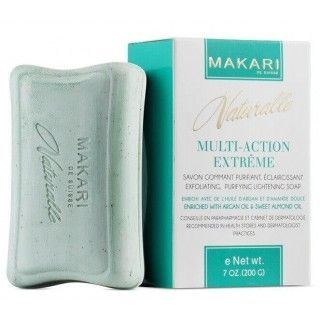 Makari Naturalle Multi-Action Extrême Savon gommant purifiant, éclaircissant
