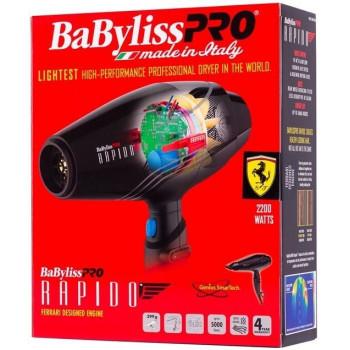 Babyliss Pro sèche-cheveux Rapido ferrari