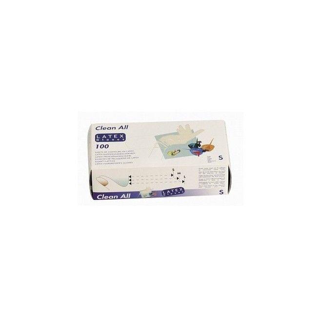 Gants Latex  Clean All (paquet de 100 pces) Sibel