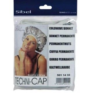 Techni Cap Bonnet à Permanente Auto-Chauffant à Elastique Sibel