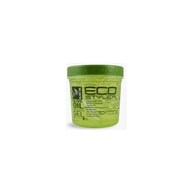 Gel de fixation à l'huile d'Olive sans alcool Eco Styler Olive 473ml
