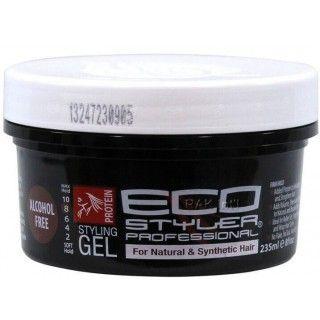Gel de coiffage sans alcool aux protéines Eco Styler