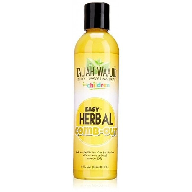 Easy Herbal Comb-Out Taliah Waajid