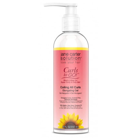 Jane Carter Solution Coiling All Curls Elongating Gel